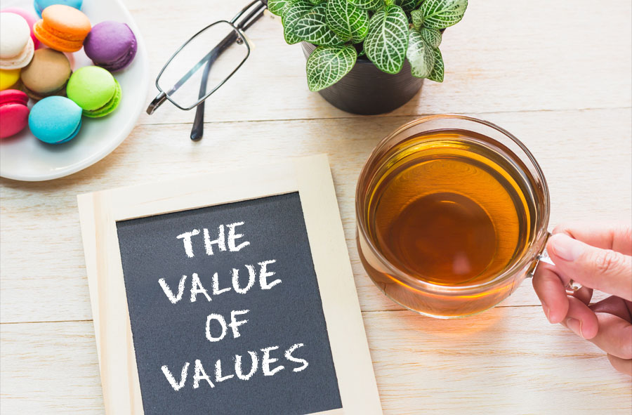 THE VALUE OF VALUES